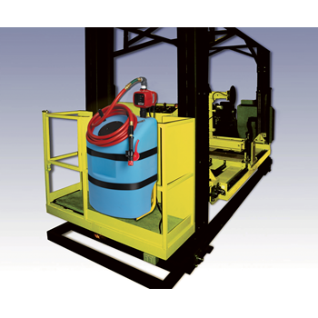 Extractor Mounted Water Supply Image