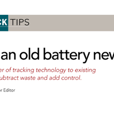 Teach an old battery new tricks with Battery Tracker