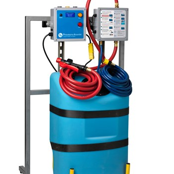 Pump Controller for Extractor-Mounted Water Supplies for Water Injector Systems™