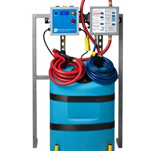 Pump Controller for Extractor-Mounted Water Supplies