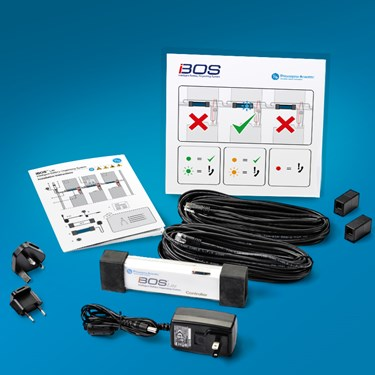 Philadelphia Scientific Introduces the iBOS® Lite forklift battery management system.